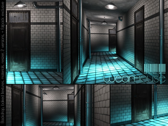 WeArH0uSE [blinders] FATPACK/PhotoBackdrop (V1,V2&Hallway)