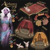 Alchemy - Tent - Gold RARE Lootbox