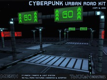 **To(kk)en Industries** Cyberpunk Urban Road Kit (Mesh)