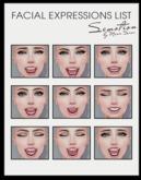 SEmotion Female Bento Facial Happy Expressions HUD