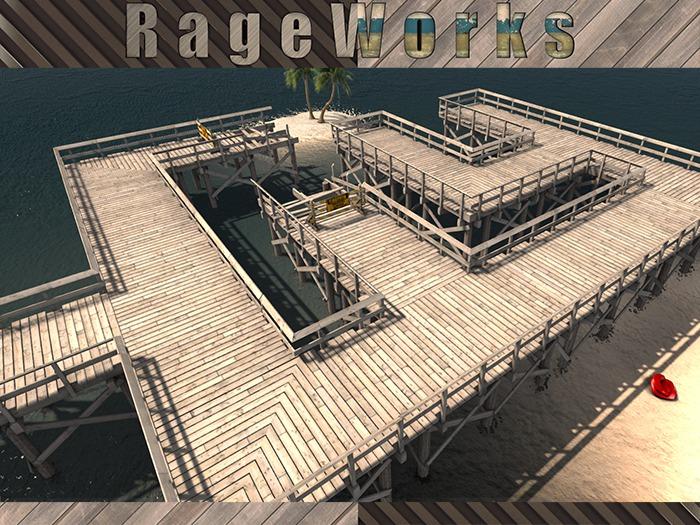 SilverBell Pier - Corners/Ends Add On - (RageWorks)