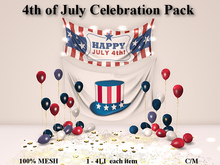 LOVE - 4TH OF JULY CELEBRATION PACK