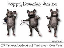 Animated Happy Dancing Mouse - CUTE!
