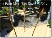 1 prim Mesh Tiki Torch by Felix copy-mody