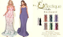 [Eclectique] Elegante Gown  -FATPACK {F}