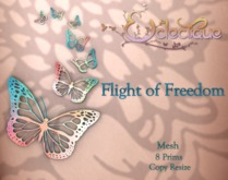 Fly Free Butterfly Wall Art {cgtg}
