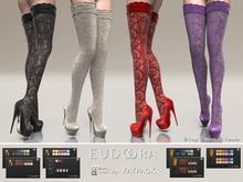 Eudora3D Eden Pumps&Stockings (Maitreya) FATPACK