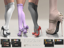 Eudora3D Alice Pumps&Socks (Maitreya) FATPACK