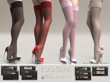 Eudora3D Mina Stockings&Stillettos (Maitreya) FATPACK