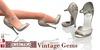 Eclectica Vintage Gem Shoes - beige