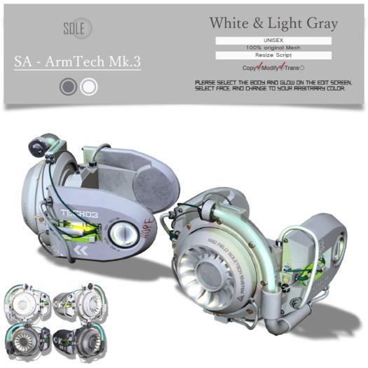 :::SOLE::: SA - Armtech Mk.3 (Set A)