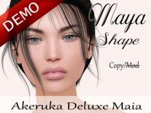 Maya Shape [AK Deluxe] - Maia Bento Head Demo
