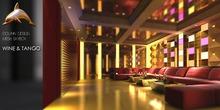 [DolphinDesign] Wine&Tango club/lounge skybox(60 Prims)