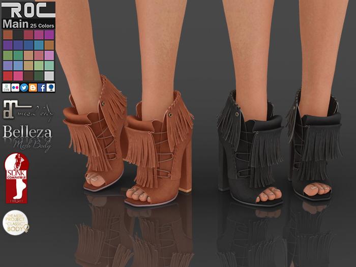 ::ROC:: Tassel String Boots