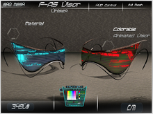 F-AS Visor -Shu Mesh-