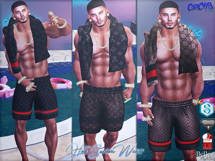 {RC}Hot  Men SwimWear