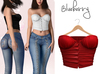 Blueberry - Ashberry - Button Up Tops - Red