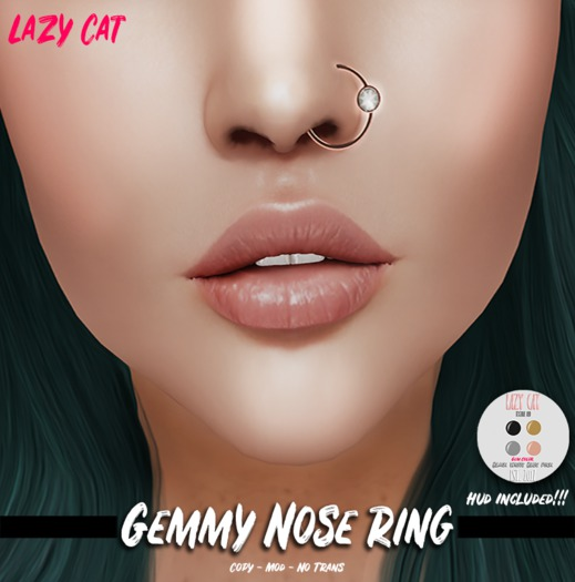 Second Life Marketplace Lc Gemmy Nose Ring