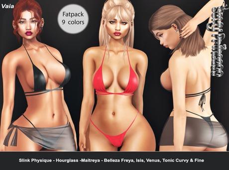 [Sexy Princess] Vaia Bikini & Sarong Fatpack