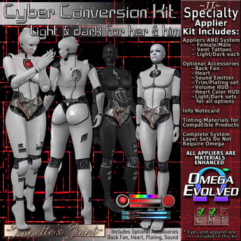 ~JJ~ Cyber Conversion Kit