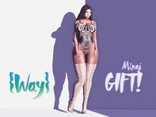 {Way} Minaj GIFT!
