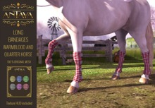 :: ANTAYA :: WHRH Horse long bandages \ Original mesh