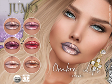 .:JUMO:. Ombre Lips - CATWA and Omega - ADD ME