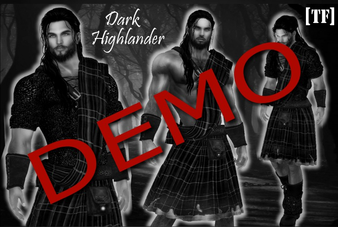DEMO - Dark Highlander [ADD to Unpack]