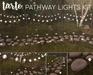 Tarte. pathway lights kit