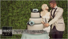 Ardent Poses - Traditional Cake Cutting