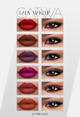 WEAR ~ The Face ~ Catwa - Lady ~ Make-up palette