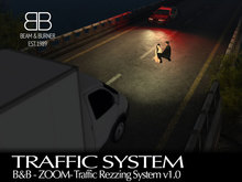 B&B - ZOOM - Vehicle Traffic Rezzer w/Road v1.0