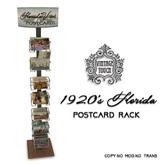 Vintage Touch Florida Vintage Postcards Rack