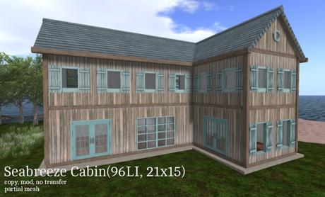 Seabreeze Cabin(96LI, 21x15)
