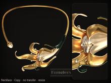 KUNGLERS Rosalia necklace - Crystal