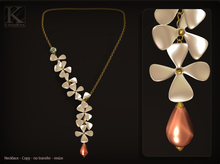 (Kunglers) Dinorah necklace - Pearl