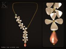 (Kunglers) Dinorah necklace - Pearl