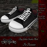 Tiny Gothics Tweenster Sneakers Black