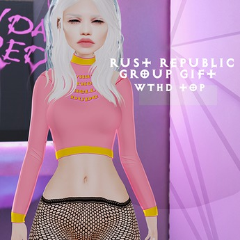 RUST REPUBLIC [WTHD] top(maitreya)