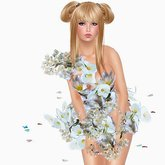 Boudoir -White Flower Dress