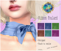 .Viki. Ribbon Foulard (Wear)