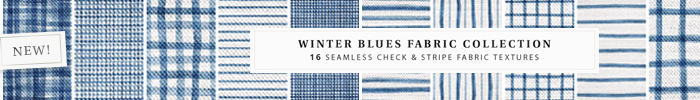 Empire   winter blues fabric collection   banner