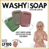 -RC- Washy Bars of Soap