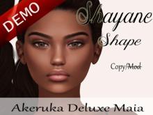 Shayane Shape [AK Deluxe] - Maia Bento Head Demo