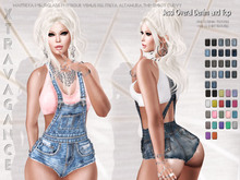 ::XT:: - Jessi Overal Denim and Top