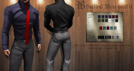 ^TD^Suited Men Outfit FATPACK