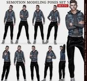 SEmotion Male Bento Modeling poses Set 5 - 10 static poses