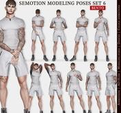 SEmotion Male Bento Modeling poses Set 6 - 10 static poses