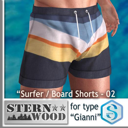"Signature Gianni ""Surfer/Board Short 02"""