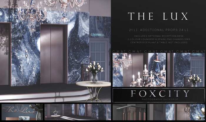 FOXCITY. Photo Booth - The Lux